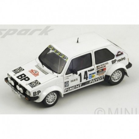 Volkswagen Golf MK1 14 Rallye Monte Carlo 1980 Therier Vial Spark S3210