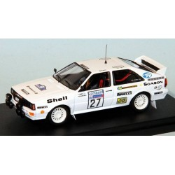 Audi Quattro 27 RAC Rally 1982 Lampi Kuukkala Trofeu SCA42