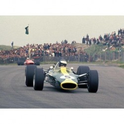 Lotus 49 F1 Pays-Bas 1967 Jim Clark Spark S4826