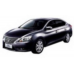 Nissan Sylphy 2012 RHD Deep Irish Grey IXO JC254