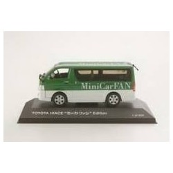 Toyota Hiace 2007 LTD ED for Japanese Market 2007 Green White KK Scale KMINICAR