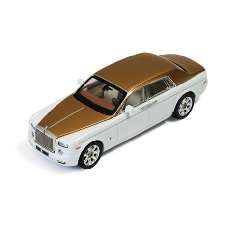 Rolls-Royce Phantom Middle East Special 2010 White and Gold IXO MOC162P