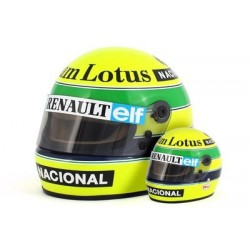 Casque 1/2 Ayrton Senna F1 1985 Sports Mini Line