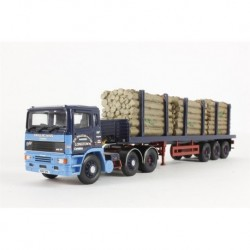 ERF EC Flatbed Trailer & LOG Load Jos Mill Corgi CC11905