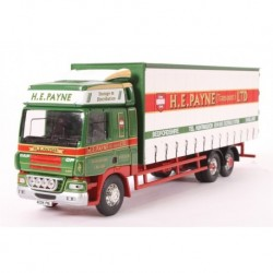 DAF CF Curtainside Lorry H E Payne Transport LTD Corgi CC13618