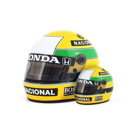 Casque 1/2 Ayrton Senna F1 1988 Sports Mini Line