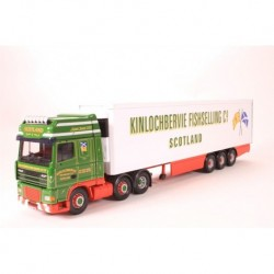 DAF XF Super Space Cab Fridge Trailer Kinlochbervie Fishselling Corgi CC13239