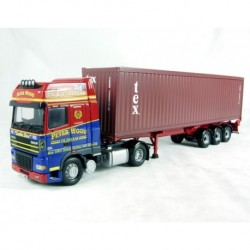 AF XF Super Space CAB, Skeletal Trailer & Container Peter Corgi CC13240