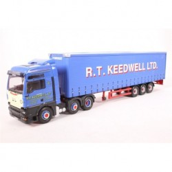 Man TGA Curtainside R T Keedwell LTD Corgi CC13423