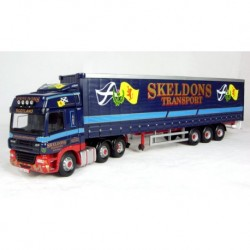 DAF CF Curtainside Skeldons Transport Corgi CC13615