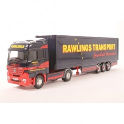 Mercedes Benz Actros Box Trailer Rawlings Transport Corgi CC13813