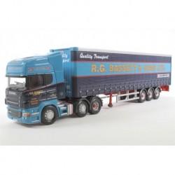 Scania Serie R Topline Curtainside - Mt Kooi R G Bassett Corgi CC13717
