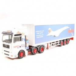 MAN TGA & Trailer Saints L.E. Corgi CC13433