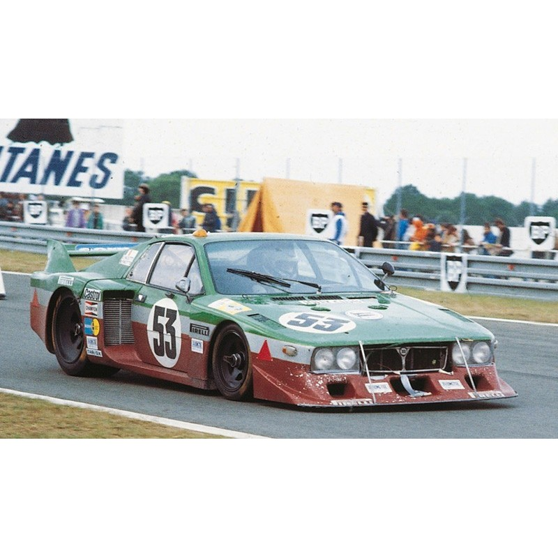 lancia beta 53 24 heures du mans 1980 spark 18s163 miniatures minichamps. Black Bedroom Furniture Sets. Home Design Ideas