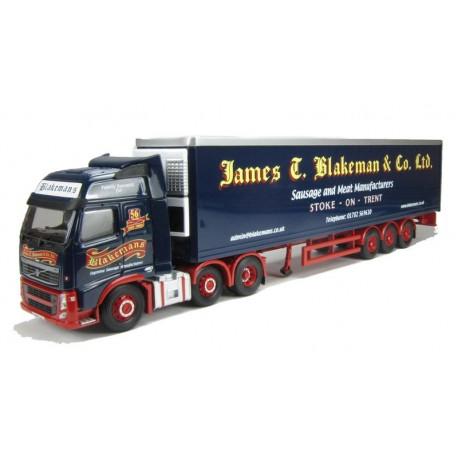 Volvo FH Face Lift Fridge Trailer James T Blakeman & Co LTD, Stoke-on-trent Corgi CC14027