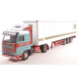 Scania 143 Box Trailer Pollock (Scotrans) LTD Bathgate, Scotland L.E. Corgi CC14806