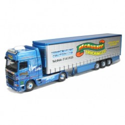 DAF 95 Fridge Curtainside (Children of Lir) Mcaumliffe Trucking Company Castleisland, CO.Kerry Corgi CC13247