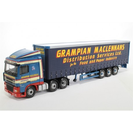 DAF XF Curtainside Grampian Maclennans Highly LTD Corgi CC13233