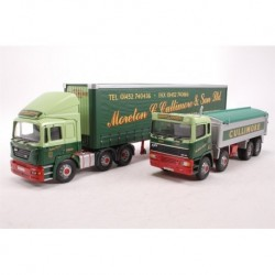 Moreton C Cullimore Set: ERF ECS With Trailer + ERF EC 8-Wheel Tipper Corgi CC99154