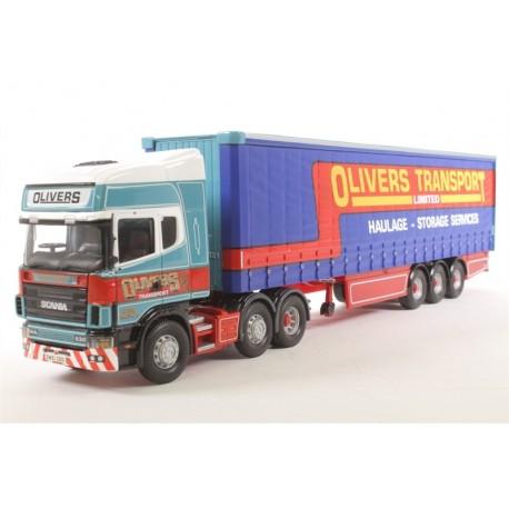 Scania TopLine Curtainside Olivers Transport S&S Corgi CC12937