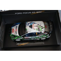 Ford Focus RS WRC 8 Monte Carlo 2008 Duval Chevaillier Signed model Sunstar SS3946