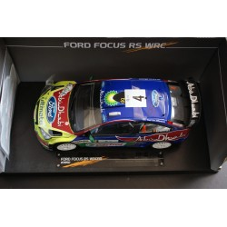 Ford Focus RS WRC 4 Tour de Corse 2008 Duval Pivato Signed model Sunstar SS3950