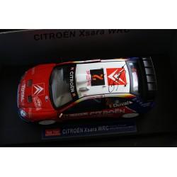 Citroen Xsara WRC 2 Rallye Monte Carlo 2005 Duval Prévot Signed model Sunstar SS4415