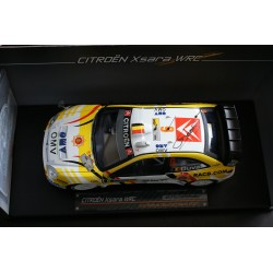 Citroen Xsara WRC 6 Rallye d'Allemagne 2007 Duval Pivato Signed model Sunstar SS4430