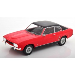 Ford Capri MKI 1973 Red and Black MCG MCG18083
