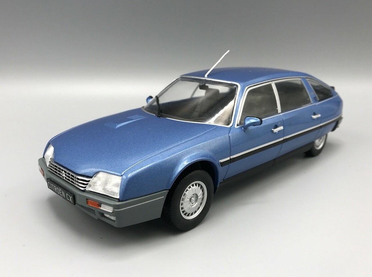 Citroen Cx 2500 Blau 1986 1//24 whitebox