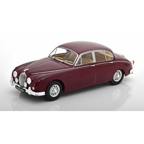 Jaguar MKII 1960 Dark Red Whitebox WB124029
