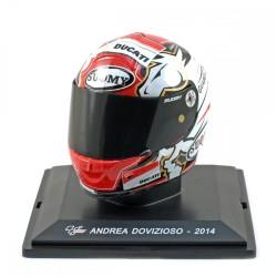 Casque 1/5 Andrea Dovizioso Moto GP 2014 IXO GC042