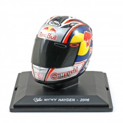 Casque 1/5 Nicky Hayden Moto GP 2006 IXO GC010