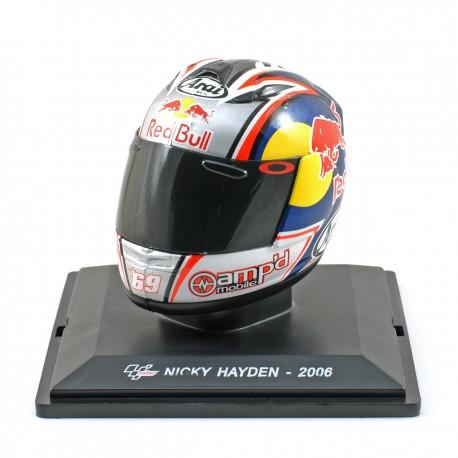 Casque 1/5 Nicky Hayden Moto GP 2006 IXO GC010