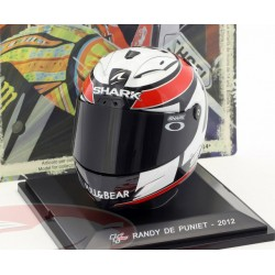 Casque 1/5 Randy de Puniet Moto GP 2012 IXO GC018