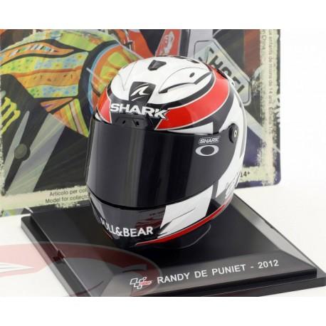 Casque 1/5 Randy de Puniet Moto GP 2012 IXO GC018