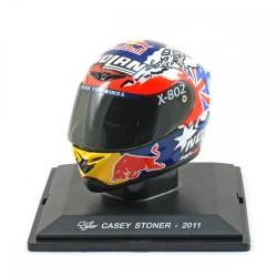 Casque 1/5 Casey Stoner Moto GP 2011 IXO GC007