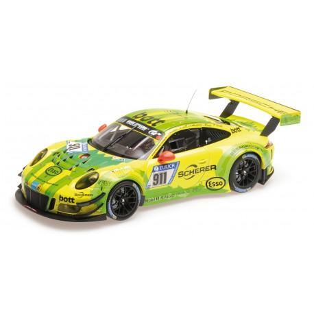 Porsche 911 GT3 R 911 24 Heures du Nurburgring 2017 Minichamps 155176911