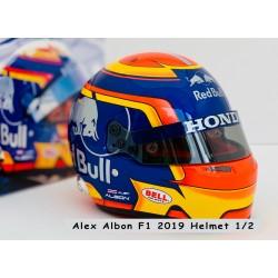 Casque Helmet 1/2 Alexander Albon F1 2019 Bell