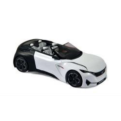 Peugeot Fractal Cabriolet Concept Car 2015 Blanche Norev 479989