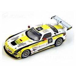 Mercedes-Benz SLS AMG GT3 19 24 Heures de Spa 2012 Spark SB034