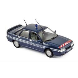 Renault 21 Turbo Gendarmerie 1989 Bleue Norev 512116