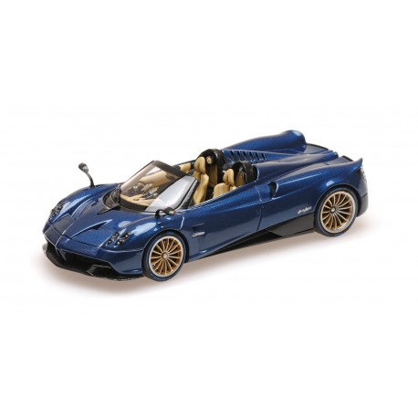 Pagani Huayra Roadster Carbon Blue 2017 Almost Real ALM450303