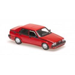 Alfa Romeo 75 V6 America 1987 Red Minichamps 940120461