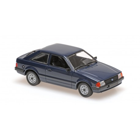 Ford Escort 1981 Blue Minichamps 940085000