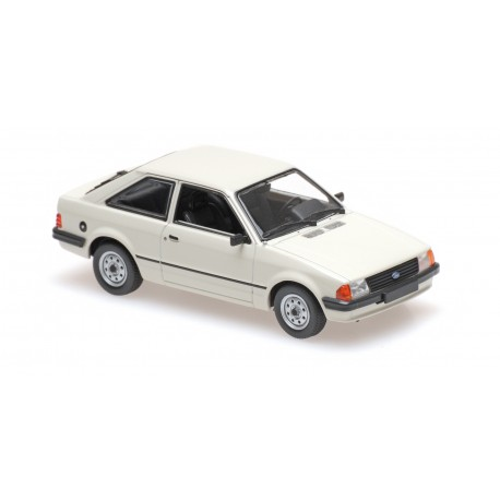 Ford Escort 1981 Grey Minichamps 940085001