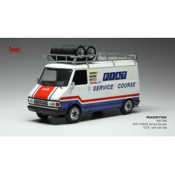 FIAT 242 Fiat France Service Course with roof rack 1979 IXO RAC273X