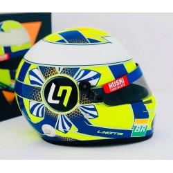 Casque Helmet 1/2 Lando Norris F1 2019 Bell