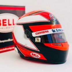 Casque Helmet 1/2 Kimi Raikkonen F1 2019 Bell