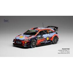 Hyundai i20 WRC 11 Rallye Monte Carlo 2019 Neuville Gilsoul IXO RAM700
